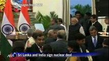 Sri Lanka and India sign nuclear deal
