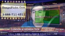 Georgia Tech Yellow Jackets vs. Clemson Tigers Free Pick Prediction NCAA College Basketball Odds Preview 2-16-2015