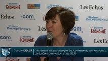 Carole DELGA - Secrétaire d'Etat chargée du Commerce, de l'Artisanat, de la Consommation et de l'ESS