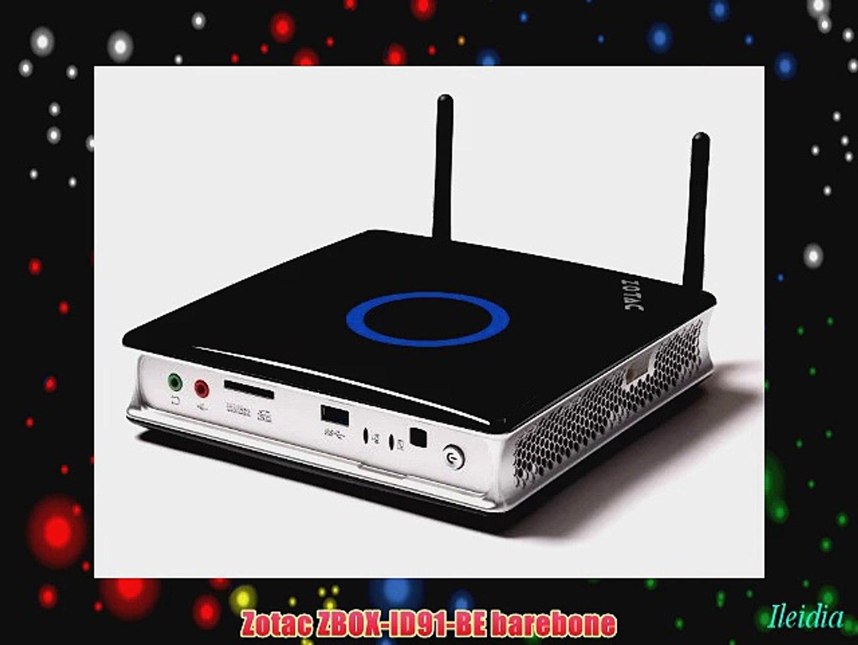 ZOTAC Celeron Dual-Core Mini PC Barebone System ZBOX-ID81-U