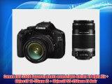Canon EOS 550D Appareil photo num?rique Reflex 18 Mpix Kit   Objectif 18-55mm IS   Objectif
