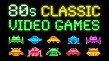 80s Classic Video Games Music - ✭ Ultimate Early 80s Arcade Tribute   pt. 1