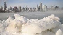 Cataratas del Niágara congeladas por ola de frío