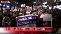 Bursa'da 5 bin kadın Özgecan için yürüdü