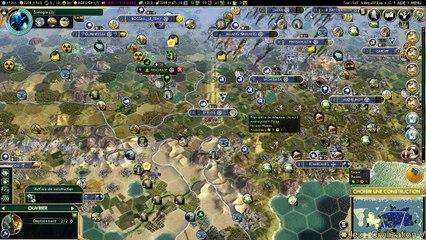 LIve Civilization V du 16-02 pt1 (REPLAY)