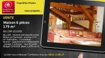A vendre - maison - BILLOM (63160) - 6 pièces - 179m²
