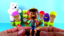 20 PlayDoh Eggs is Ice Cream unboxing. Play-Doh Surprise IceCream Chuggington Kinder Surprise Toys
