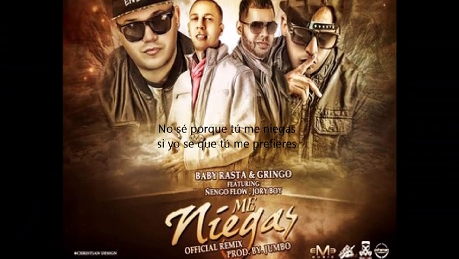 Baby Rasta Gringo Ft Nengo Flow Jory Me Niegas Official Remix