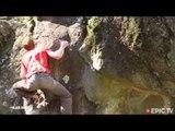 Crazy 3 7 Metre Dyno! EricTV Sick Sends | Climbing Daily Ep