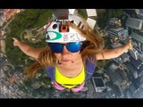 Badass Chick BASE, Wingsuit, & Ski BASE Jumps | Bird's Eye View with Suz Graham, Ep. 1