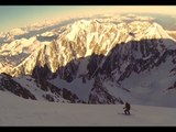 Chamonix Extreme Skiing: New Linkup of Mont Blanc & Piton des Italiens by Bruchez and Fleury