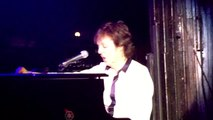 "Paul McCartney HEY JUDE (""New York Loves You Paul"" intro) Irving Plaza, New York 2/14/15"