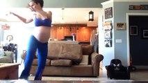 Une femme enceinte danse sur Thriller pour déclencher le travail et accoucher!