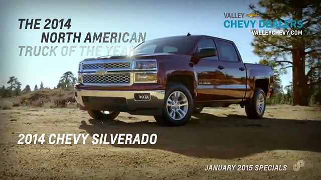 Valley Chevy Dealers – 2014 Chevy Silverado Conquest