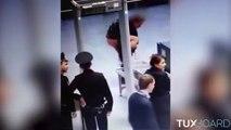 Il se met tout nu en public lors un contrôle de sécurité à l'aéroport