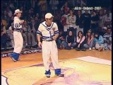 Hip hop dance Competition [LOCKING] - Manu & Loic vs. Sori & Kenzo