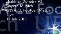 Shakhtar Donetsk vs Bayern Munich live Football