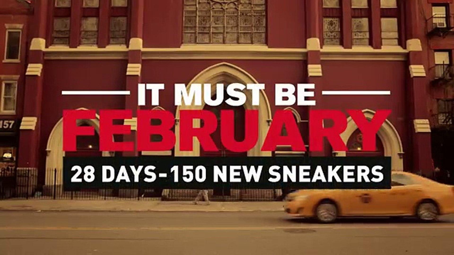 BBDO Paris pour Foot Locker - vêtements et accessoires de sport, «Trending in New York, already at F