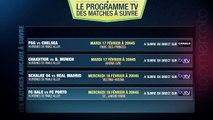 PSG-Chelsea, Schalke-Real Madrid... Le programme TV des matches de Ligue des Champions à ne pas rater !