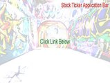 Stock Ticker Application Bar Download (Stock Ticker Application Barstock ticker application bar 2015)