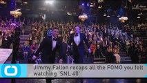 Jimmy Fallon Recaps All the FOMO You Felt Watching 'SNL 40'