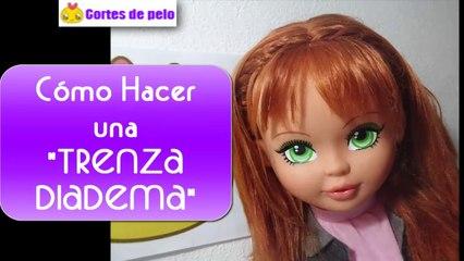 TRENZA DIADEMA PASO PASO | Peinados fáciles ¡Peluquina!