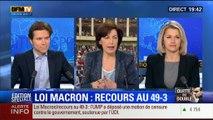 19H Ruth Elkrief: Édition spéciale Loi Macron (2/2): Recours au 49.3: la majorité était-elle en danger ? - 17/02