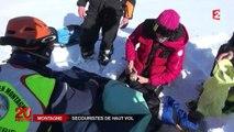 À la montagne, des équipes de secours sans relâche