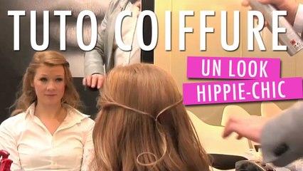Réaliser une coiffure Hippie-Chic - Tuto Coiffure
