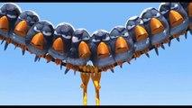 Drôles d'oiseaux sur une ligne à haute tension - court-métrage Pixar