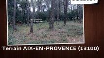 A vendre - terrain - AIX-EN-PROVENCE (13100)