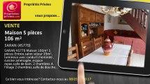 A vendre - maison - SARAN (45770) - 5 pièces - 106m²