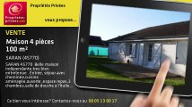 A vendre - maison - SARAN (45770) - 4 pièces - 100m²