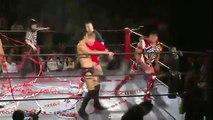 Ryoji Sai, Kazuhiro Tamura & Takuya Kai vs. Arashi, Takafumi Ito & Kotaro Nasu (Tokyo Gurentai)