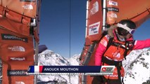 FWT15 - Run of Anouck Mouthon (FRA) Swatch Freeride World Tour 2015 Fieberbrunn By The North Face restaged in Vallnord-Arcalis AND