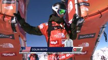 FWT15 - Run of Colin Boyd (USA) Swatch Freeride World Tour 2015 Fieberbrunn By The North Face restaged in Vallnord-Arcalis AND