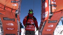 FWT15 - Run of Drew Tabke (USA) Swatch Freeride World Tour 2015 Fieberbrunn By The North Face restaged in Vallnord-Arcalis AND