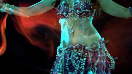 Voodoo Priestess  belly dance music video by Life Is Cake - Tanna Valentine