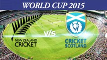 2015 WC NZ vs SCO Trent Boult on beating Scotland