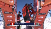 FWT15 - Run of Jérémie Heitz (SUI) Swatch Freeride World Tour 2015 Fieberbrunn By The North Face restaged in Vallnord-Arcalis AND