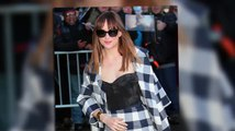 Dakota Johnson Continues Fifty Shades Of Grey Promotion After Breaking Box Office Records