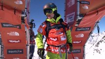 FWT15 - Run of Stefan Hausl (AUT) Swatch Freeride World Tour 2015 Fieberbrunn By The North Face restaged in Vallnord-Arcalis AND