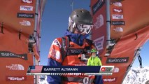 FWT15 - Run of Garrett Altmann (USA) Swatch Freeride World Tour 2015 Fieberbrunn By The North Face restaged in Vallnord-Arcalis AND