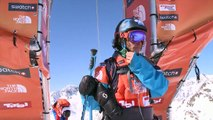 FWT15 - Run of Juan Bergada (ARG) Swatch Freeride World Tour 2015 Fieberbrunn By The North Face restaged in Vallnord-Arcalis AND