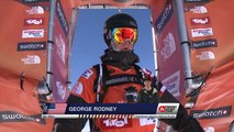Winner Run of George Rodney (USA) Swatch Freeride World Tour 2015 Fieberbrunn By The North Face restaged in Vallnord-Arcalis AND