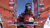 FWT15 - Run of Neil Williman (GBR) Swatch Freeride World Tour 2015 Fieberbrunn By The North Face restaged in Vallnord-Arcalis AND