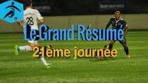 Championnat National - 21ème journée - Les buts