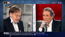 Alain Finkielkraut contre l'Axe Dumas-Philippot-Dieudonné-Soral – BFMTV/RMC, 17/02/2015
