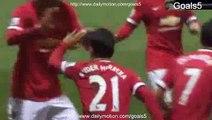 Ander Herrera Goal Preston 1 - 1 Manchester United FA Cup 16-2-2015