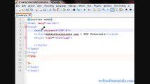 php tutorials in Urdu - Hindi - 9 - use html and javascript in php